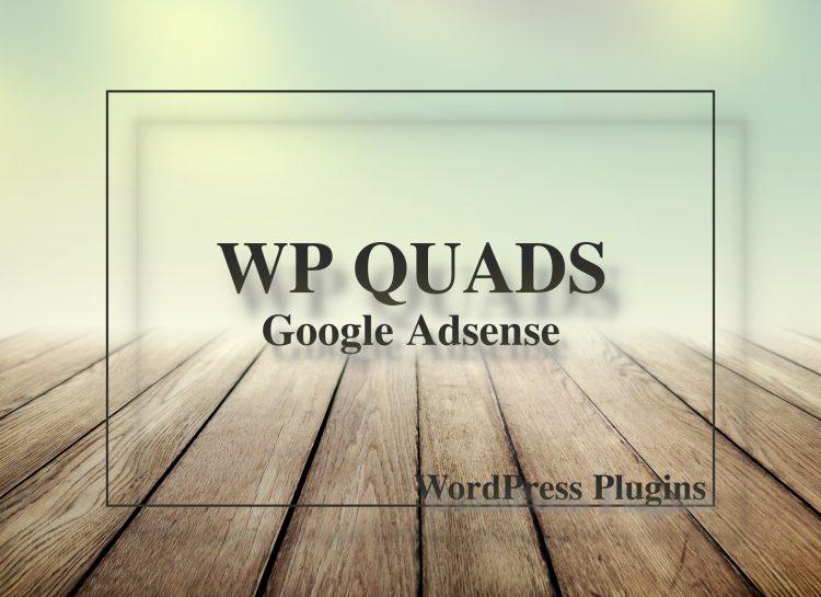 WP QUADSの設定方法と使い方!Adsense管理のプラグインでNo.1!!