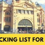 【男女兼用】オーストラリアのワーホリに持って行くべき持ち物リストまとめ!